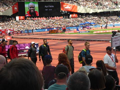 P1040659 (Commander Idham) Tags: muller anniversary games saturday 23 july 2016 team gb great britain rio athletics london olympic stadium 100m relay 3000m steeplechase long jump hurdles 110m