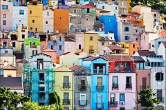 bosa (heavenuphere) Tags: oristano sardegna sardinia sardinie italia italy europe island colourful houses architecture 24105mm