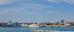 Valencia Marina (Canon PowerShot G1X) (1 of 1) (markdbaynham) Tags: valencia valencian port marina spain spainish espana es espanol city urban metropolis canon canonties powershot g1x ship boat yatch water