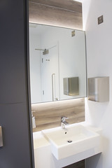 Brunel House (Corley + Woolley Limited) Tags: corleywoolley fitoutinterior interior fitout refurb refurbishment office indoor bathroom wc sink mirror