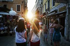 World Wide West (WanderLearn) Tags: venice street streetphotography girls women girl woman travel people walking person sunset sunlight light sun sunshine lives exploring explore friends mate mates