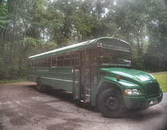 The Green Bus (Cocoabiscuit) Tags: cocoabiscuit olympus em5 kentucky mammothcaves nationalpark caves bus transport