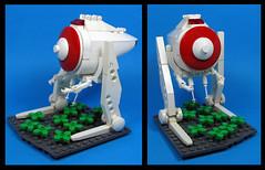 The Shuttle Shuffler (Karf Oohlu) Tags: lego moc walker biped notanatat