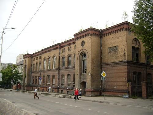A rendőrség egyik épülete