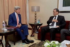 Secretary Kerry Meets With UN Special Envoy for Yemen (U.S. Department of State) Tags: johnkerry jeddah saudi arabia ismail ould cheikh ahmed