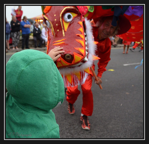 17.08.16 Weymouth Carnival..Dragon..