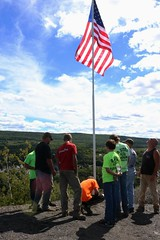 20160911130045_IMG_3448 (arielandrew) Tags: 911 glenlyon mocanaqua flag america american memorial woods outdoor canon rebel t6i