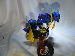 Maari 7 (quartzroolz) Tags: bionicle agori quartz roolz bike biker bikerbabe system mixel island rpg mocpages