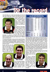 Dundee vs Rangers - 2000 - Page 8 (The Sky Strikers) Tags: dundee rangers scottish premier league spl bank of scotland dens park matchday magazine one pound fifty