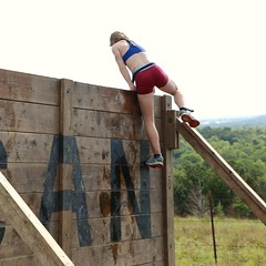 Walls of Fury - Up and Over (OakleyOriginals) Tags: conquerthegauntlet race obstacles torpedo wallsoffury stairwaytoheaven cliffhanger tulsa ok august 2016 challenge strength fitness competitive medals