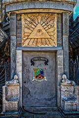 Iulia's Castle - Entrance (Askjell's Photo - @work - very slow internet) Tags: bogdanpetriceicuhasdeu castle cmpina iuliahasdeu romania spiritism spooky ghost ghostly hounted mystic mysticism