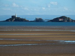 The twin peaks that gave Mumbles its name (Tyrone (Ty) Williams) Tags: mumbles swanseabay breasts mounds mamelles lighthouse sailors french rnli lifeboat land sea passage landmark canon canonsx60hs