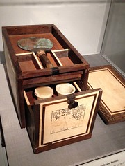 1-1 Dressing Table History (MsSusanB) Tags: metmuseum metropolitan art dressingtable cosmetic egypt ebony ivory cedar mirror furniture antique