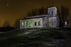 Ermita de Santa Cecilia Nocturna, Santo Domingo de Silos, Burgos (pitujrg) Tags: burgos santo domingo de silos yecla ermita church santa cecilia