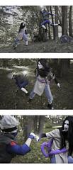 battle (Zilephiroth) Tags: naruto shippuuden kakashi hatake cosplay orochimaru