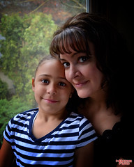 Mother and Daughter Redux (MBates Foto) Tags: motheranddaughter people portrait color availablelight indoors nikon nikond7000 nikon18105mm spokane washington usa 99203