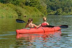 adrift (stevefge) Tags: krakow poland vistula rivers water kayak girls paddle people candid reflectyourworld