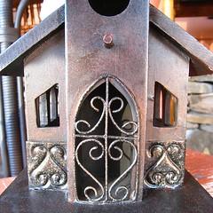 birdhouse (muffett68 ) Tags: ansh scavenger7 unique door metal birdhouse