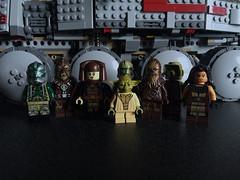 Kashyyyk Squad (LEGOSAM1234) Tags: luminaraunduli yoda quinlanvos gree starwars kashyyyk chewbacca tarfull clonewars clones order66