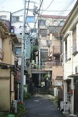 tokyo6000 (tanayan) Tags: urban town cityscape tokyo jyujyo japan nikon j1    road street alley