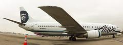 N769AS   Alaska Airlines   Boeing 737-4Q8   LAX (Max ✈ Yarema) Tags: klax airplane airline airliner plane aircraft california los angeles airport planespotting jetliner boeing 737 400 classic aviation