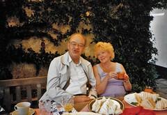 Spynishlake - Tony Howlett & Lynne Godden (photo courtesy of Freda Howlett)