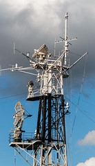 Aerials (CdL Creative) Tags: 70d canon cdlcreative eos england hmsbelfast london se1 southbank aerials geo:lat=515062 geo:lon=00823 geotagged masts radio unitedkingdom gb