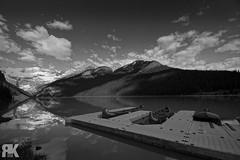 Lake Louise (ryan.kole32) Tags: banff banffalberta banffnationalpark nationalpark alberta canada canadianrockies rockies rockymountains landscape nature beauty beautyinnature travel outdoors hiking blackandwhite monochrome mirrorimage reflection sony sonya77