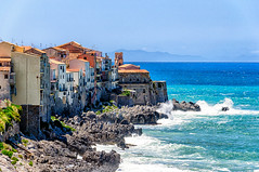Cefalu (Kevin R Thornton) Tags: d90 landscape travel sicily architecture italy 2016 city nikon cefalu cefalã¹ sicilia it