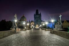 Prague Karluv Most (robertbilos) Tags: prague praha longexposure charlesbridge nightphotography sonyalpha bridge city