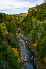 Quechee Gorge1 (~Arles) Tags: quecheegorge river gorge vermont newengland autumn fall trees nature rocks