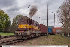 742.105-0 | tra 331 | Lpa nad Devnic (jirka.zapalka) Tags: train trat331 czech autumn lipanaddrevnici stanice cdcargo rada742
