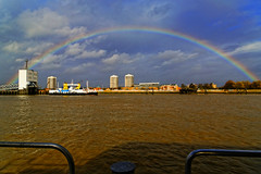 London and the Thames (will668) Tags: london riverthames rainbow rainbowoverthames