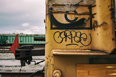 (o texano) Tags: houston texas graffiti trains freights bench benching corpse sfr hd rtd
