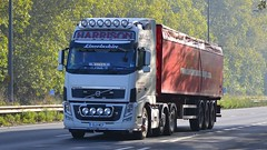 GL11 WCF (panmanstan) Tags: volvo fh wagon truck lorry commercial freight transport haulage vehicle a63 southcave yorkshire