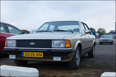 Eighties Galore (Chris 1971) Tags: 1978 1985 chevrolet caprice classic stationwagon ford granada 28 ghia automatic sedan 03zkrn 39kgk3 eindhoven