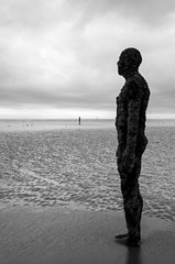 Crosby beach, 'Another place' 9 (nicholasgray4) Tags: crosbybeach anotherplace gorm gormley liverpool sea shore iron man pentax k5ii