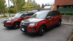Coquitlam Fire Ford Explorer Chief (bcfiretrucks) Tags: coquitlam fire ford explorer utility emergency vehicle marked new fresh cfd two dual black over red bc british columbia canada canadian photography image photo