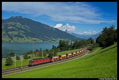 SBB Cargo 620 008, Immensee 17-07-2016 (Henk Zwoferink) Tags: immensee schwyz zwitserland weiacher kies henk zwoferink sbb cargo 620 008