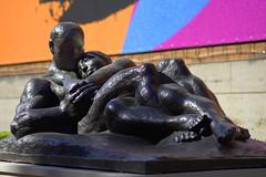 Love Sculpture (swong95765) Tags: sculpture embrace love man woman art together sharing