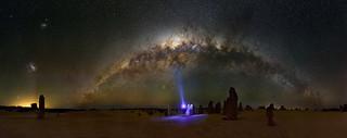 Milky Way over The Pinnacles Desert, Western Australia