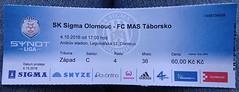 FC Sigma Olomouc 2:0 FC MAS Tborsko (fchmksfkcb) Tags: fusball football soccer groundhopping tschechischerfusball tschechien tschechischerepublik ceskarepublika cesky eskrepublika czechrepublic czechia sigma olomouc sigmaolomouc olmtz andruvstadion fcmastaborska tabor fc mas taborsko