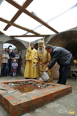 126. The Laying of the Foundation Stone of the Church of Saints Cyril and Methodius / Закладка храма святых Мефодия и Кирилла 09.10.2016