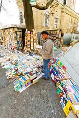 Antique book seller (Raoul Pop) Tags: bookseller books interesting fall street old iasi moldova romania ro