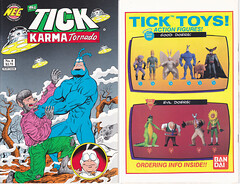 Tick Karma Tornado #8: C-SPANDEX December 1, 1994 (vsndesigns) Tags: beta the tick vs arthur sentinel prime optimus successor townsend coleman lego minifig minifigure dcon 2014 ball mylar balloon buttons bonanza pencil indie shocker gbjr toys with tie and tshirt zombie in a steel box fox promotional totally kids magazine 45 club spoon taco bell meal commercial eli stone ben edlund little wooden boy comic book merchandise rare limited edition 80s 90s collector museum naked super hero heroine collection photo screen