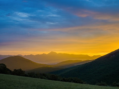 dramatic dawn (Francesco Ganzetti) Tags: colors composition landscape light mountain morning art beautiful italy clouds beauty nature natures natural moody perfect olympus 20mm panasonic marche