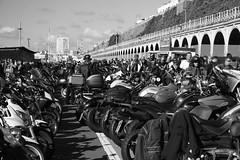 Brightona (adrianwoolgar) Tags: coast sussex brighton motorbikes motorbike motorcycles motorcycle bikes bikers band cafe meet biker show bike brightona