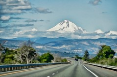 on the road again (rovingmagpie) Tags: oregon thedalles route84 mounthood mthood painted touregon summer2016