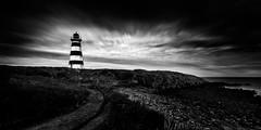 Brier Island Lighthouse I (Sandra Herber) Tags: brierisland novascotia westernlight lighthouse longexposure