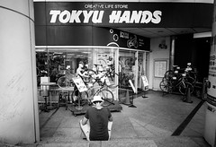 (Richard Lin!) Tags: sony a7ii japan photography shop tokyu hands creative life store voigtlander 21mm 18 blackandwhite monochrome
